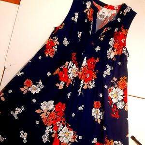 Old navy beautiful dress with vibrant colors